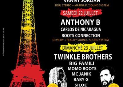Cabaret Sauvage - Village Rasta - Juillet 2017
