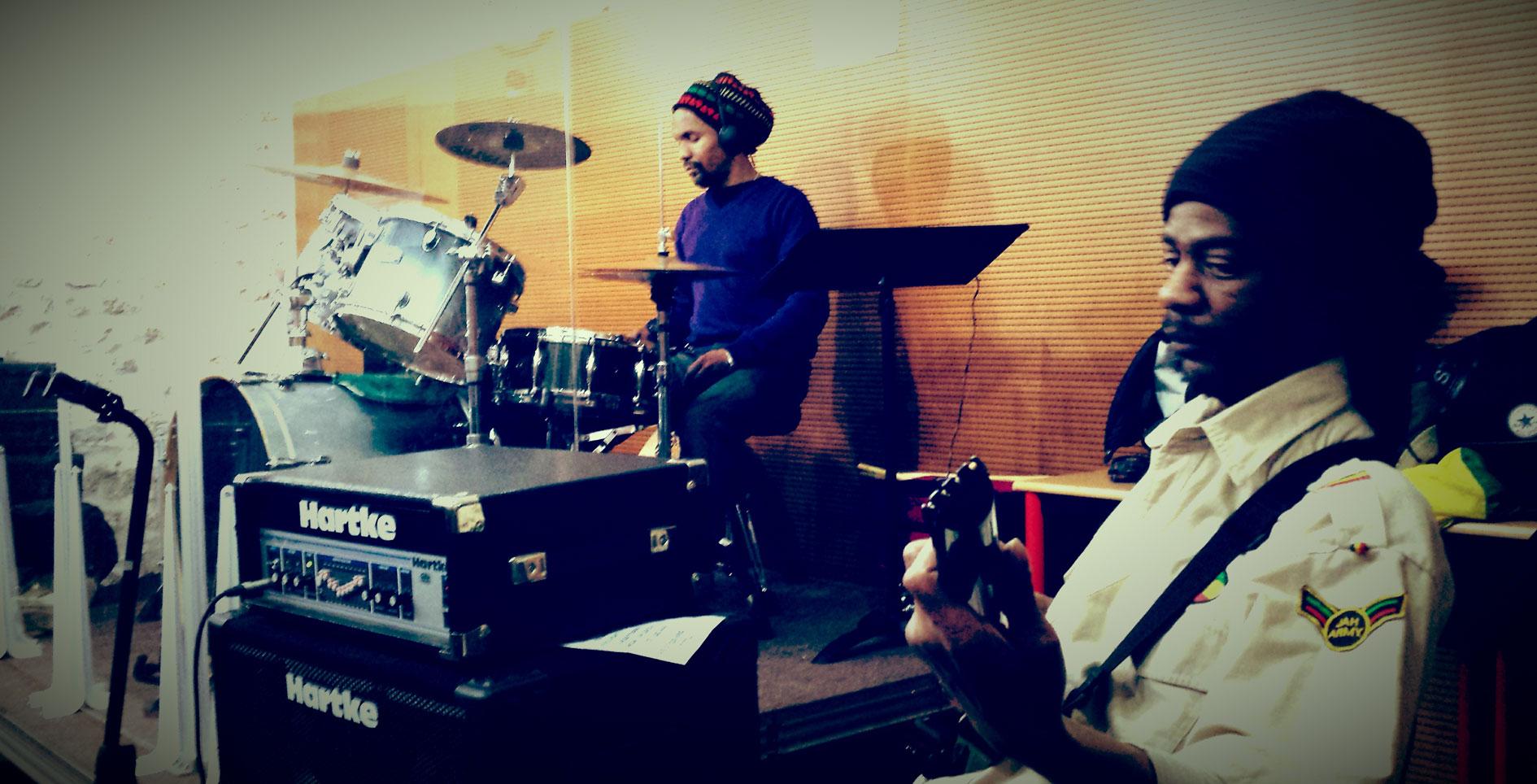 Répétition studio Batterie de Guyancourt - 10/02/2014